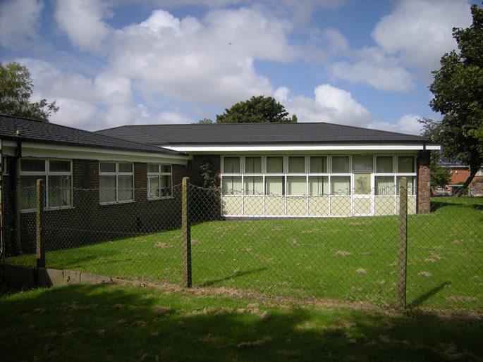metrotile roofing on building