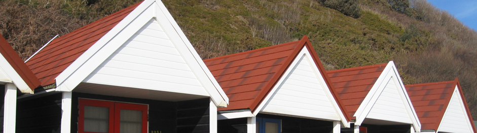 shingle on beach houses