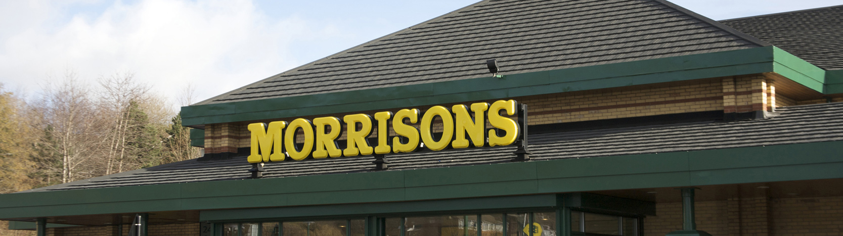 Morrisons with lightweight roofing