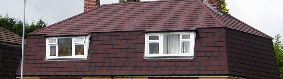 non-traditional home with metrotile roofing