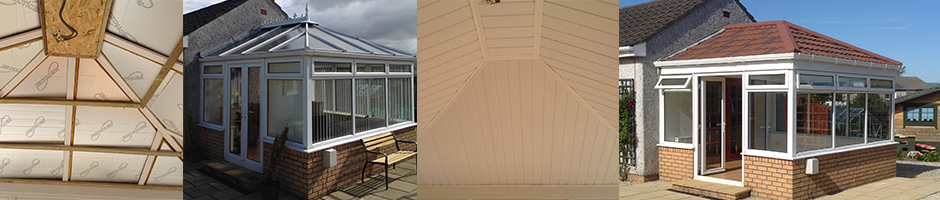 conservatory roofs with Metrotile lightweight roofing