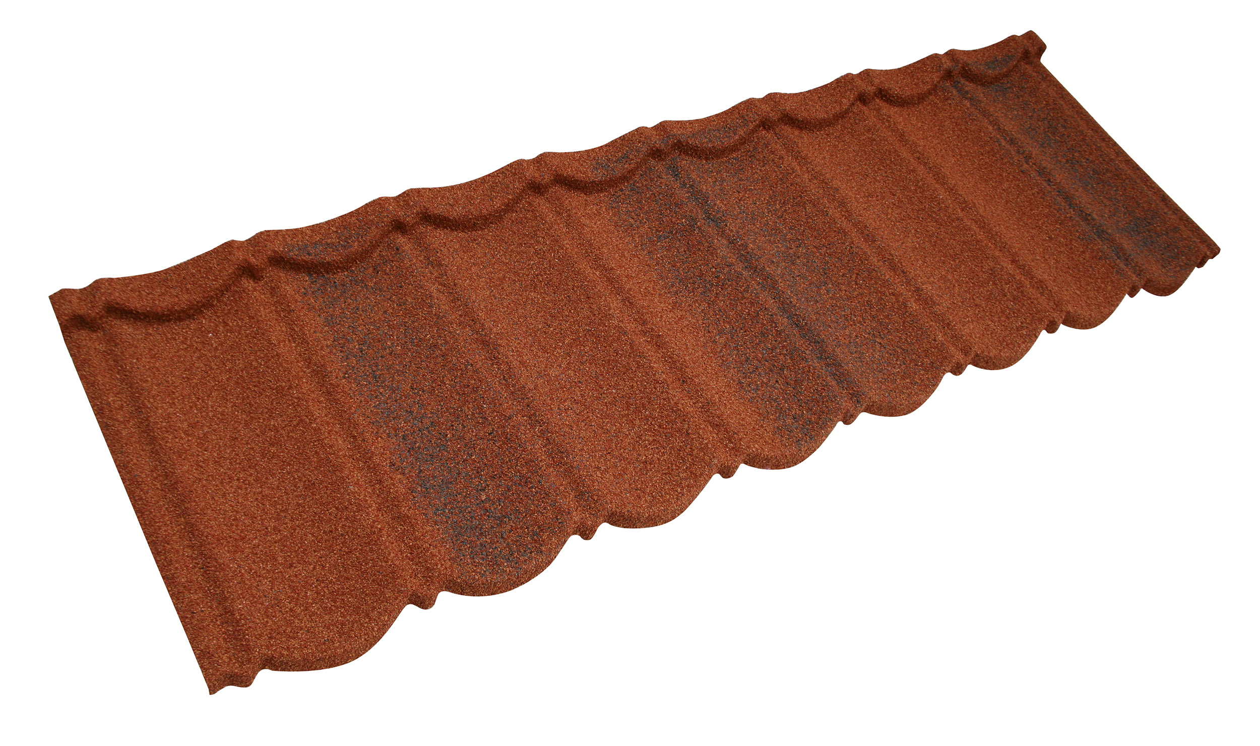 Metrotile Bond Lightweight Roofing Tile Profile in Brindle