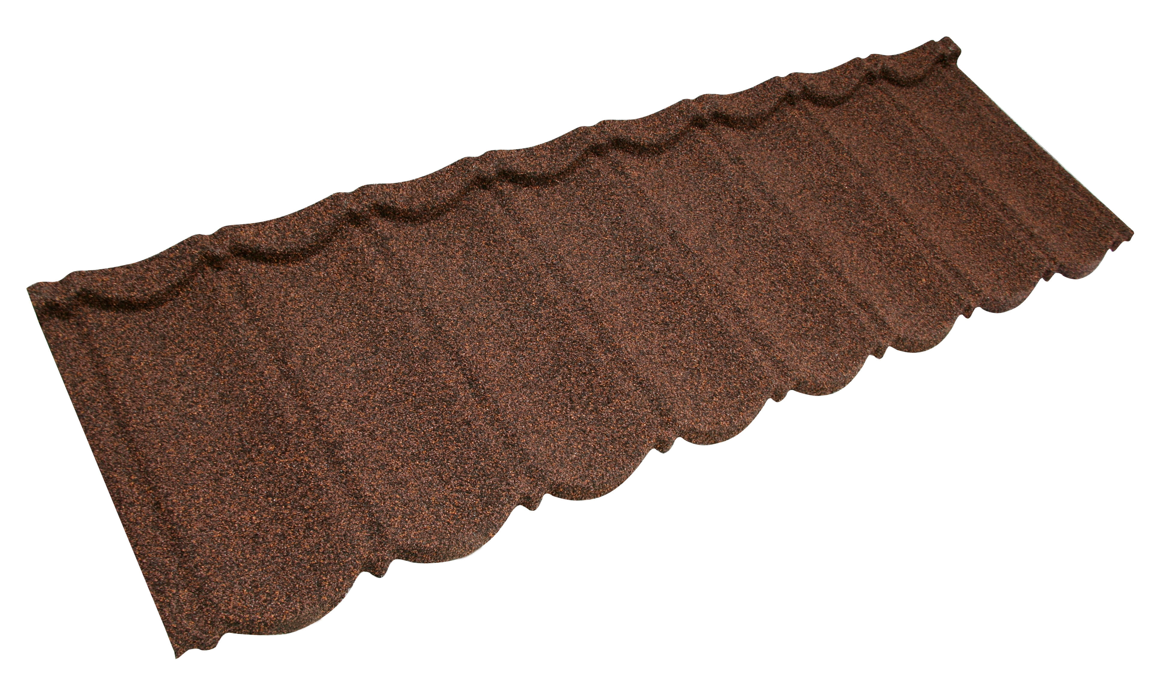 Metrotile Bond Lightweight Roofing Tile Profile in Bronze