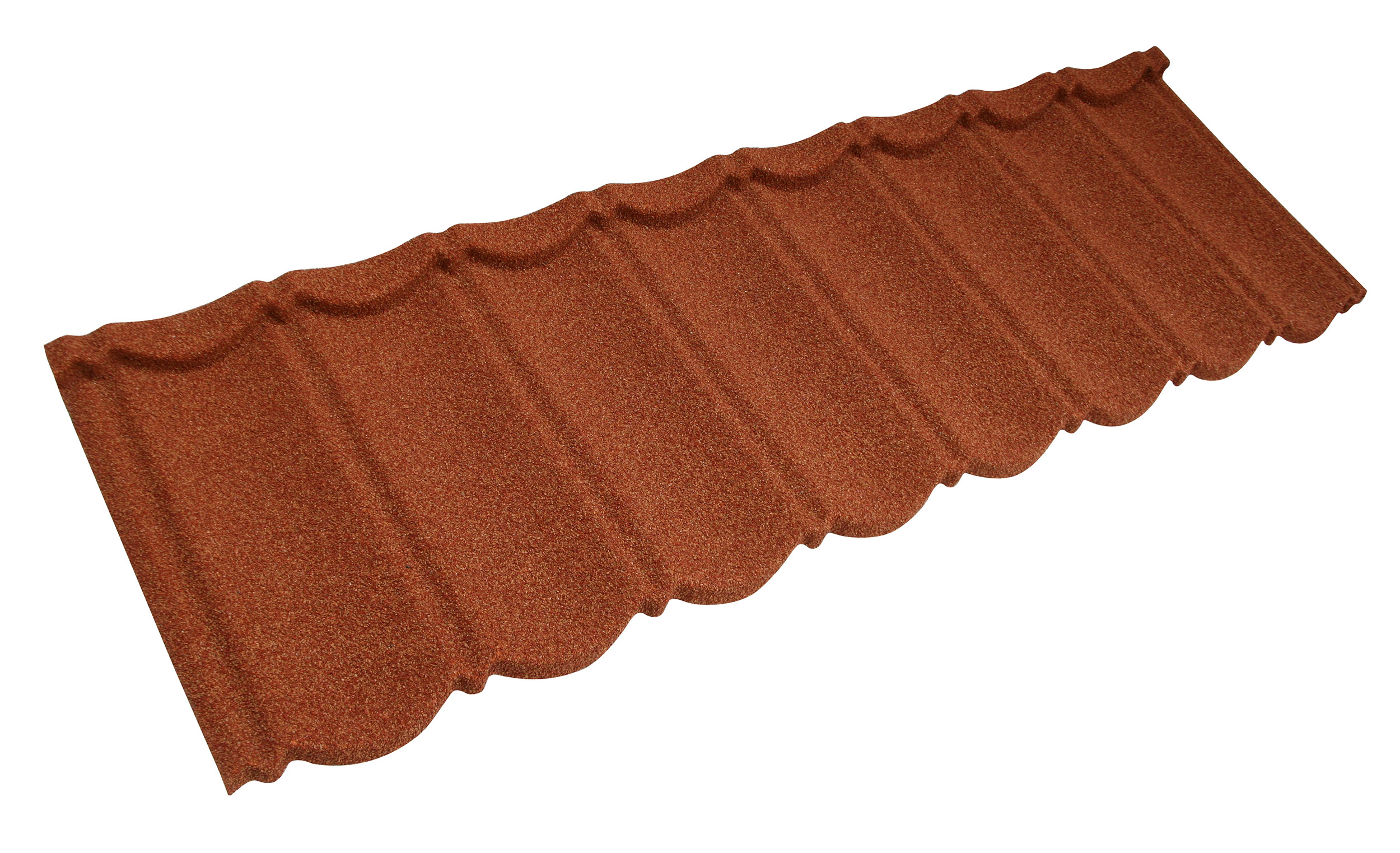Metrotile Bond Lightweight Roofing Tile Profile in Terracotta