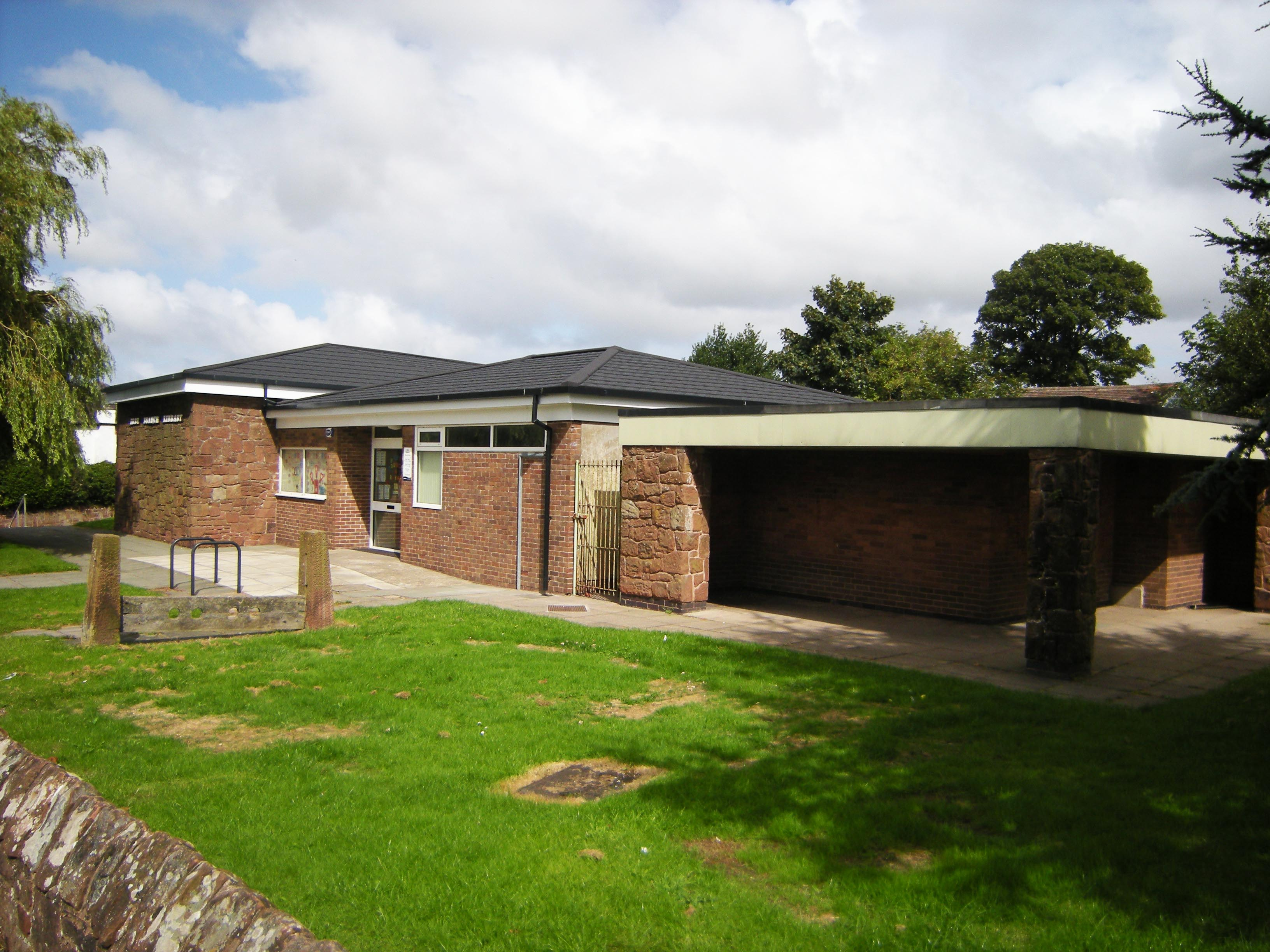Local Authority Library Refurbishment Irby Metrotile Lightweight Roofing in Vixen Charcoal