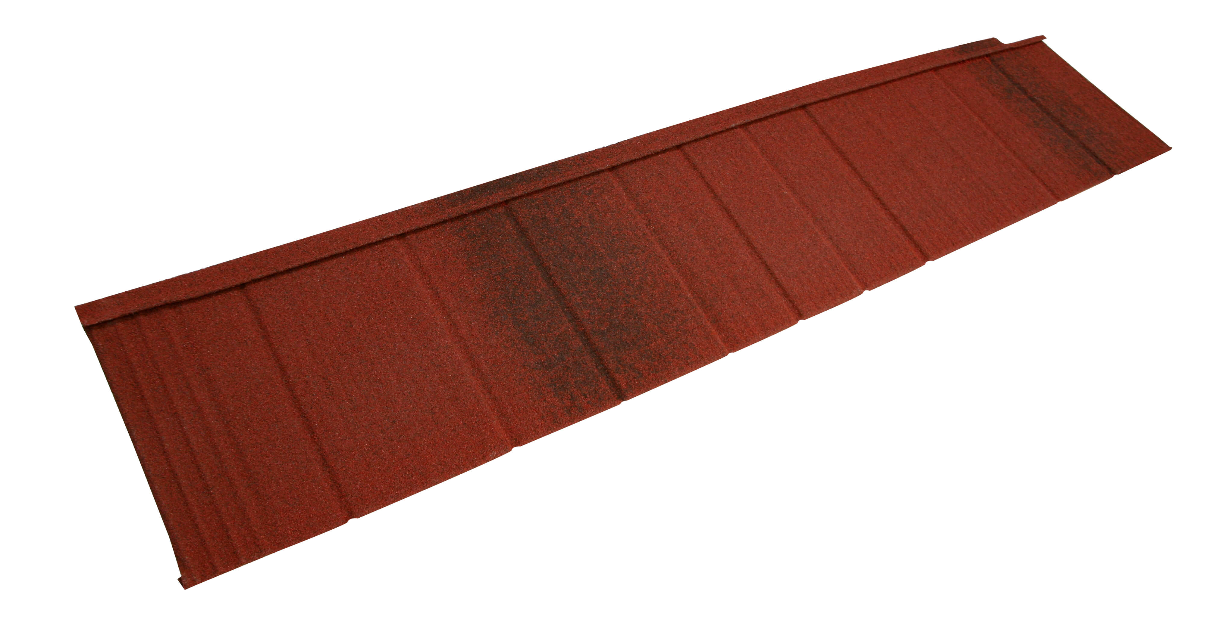 Metrotile Shingle Roofing and Cladding Tile in Antique Red
