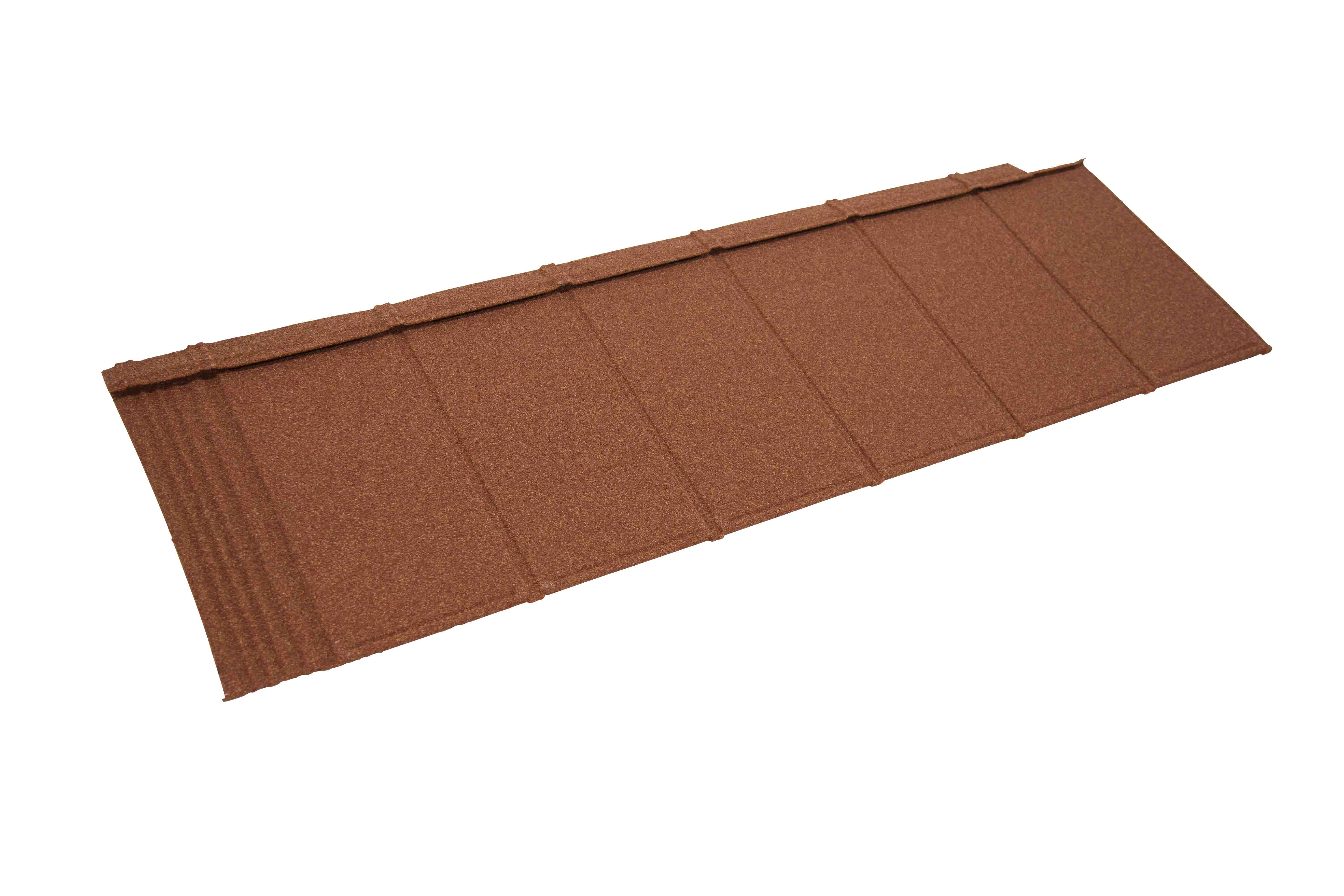 Metrotile iPanel Roofing and Cladding Tile in Terracotta